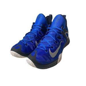 Nike Zoom HyperRev 705370-400 Blue Black Athletic Sneakers